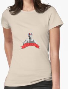 captain 'murica Womens Fitted T-Shirt