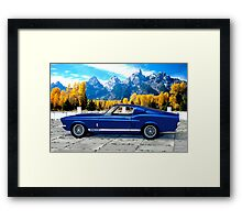 1967 Shelby Cobra Mustang GT 500 Framed Print