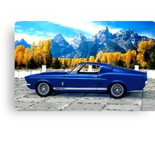 1967 Shelby Cobra Mustang GT 500 Canvas Print