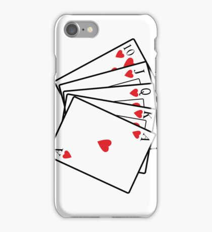 Royal Flush iPhone Case/Skin