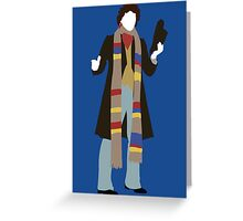The Fourth Doctor - Doctor Who Greeting Card