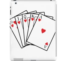 Royal Flush iPad Case/Skin