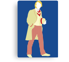 The Fifth Doctor - Doctor Who Canvas Print