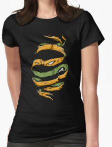 Orange Rind Womens Fitted T-Shirt