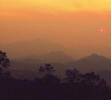 Sunset Over Pai Canyon by Sarah-Maude Plante