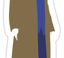 The Tenth Doctor - Doctor Who Sticker