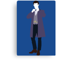 The Eleventh Doctor - Doctor Who Canvas Print