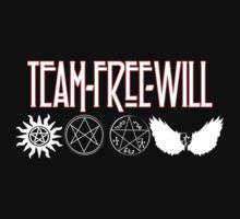 Team Free Will V2 Kids Tee