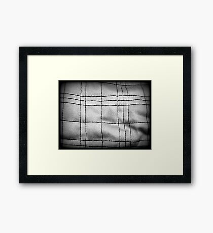 Piece of the Puzzle Framed Print