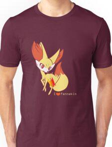 I heart Fennekin Unisex T-Shirt