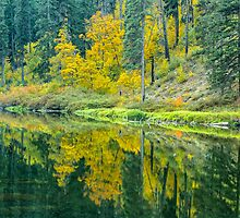 Wenatchee River in Tumwater Canyon by Jim Stiles