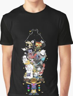 Undertale - FIGHT or MERCY ULTIMATE - HIGH QUALITY Graphic T-Shirt