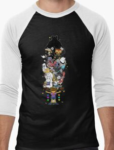 Undertale - FIGHT or MERCY ULTIMATE - HIGH QUALITY Men's Baseball ¾ T-Shirt