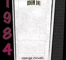 1984 Room 101 with white door by KayeDreamsART