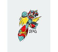 Zero (Megaman X) Photographic Print