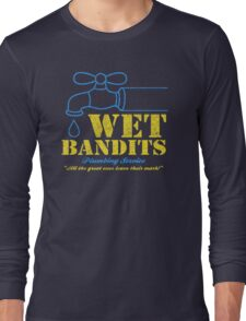 Wet Bandits Plumbing Long Sleeve T-Shirt
