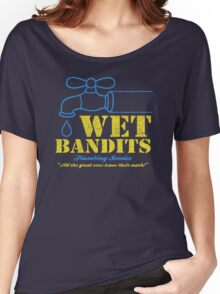 Wet Bandits Plumbing Women's Relaxed Fit T-Shirt