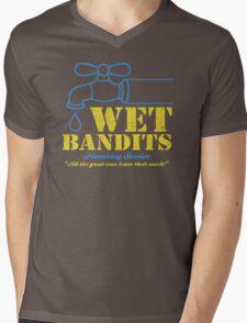 Wet Bandits Plumbing Mens V-Neck T-Shirt