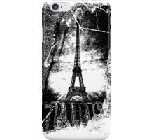 Vintage Paris Eiffel Tower  iPhone Case/Skin