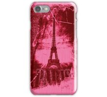 Vintage Paris Eiffel Tower 3 iPhone Case/Skin