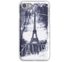 Vintage Paris Eiffel Tower 5 iPhone Case/Skin