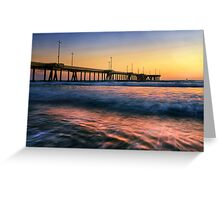 Venice Pier Greeting Card