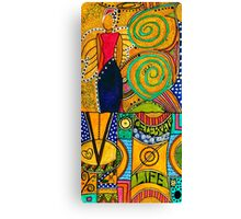 The Angel SPARKLE Celebrates LIFE Canvas Print