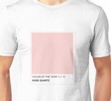 ROSE QUARTZ PANTONE 2016 COLOR Unisex T-Shirt
