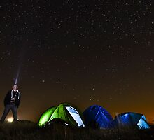 Moon landing by Fabio Bandera