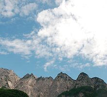 Carnic Alps Near Paularo 3 by jojobob