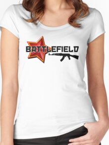 Battlefield - The Russian Perspective Women's Fitted Scoop T-Shirt