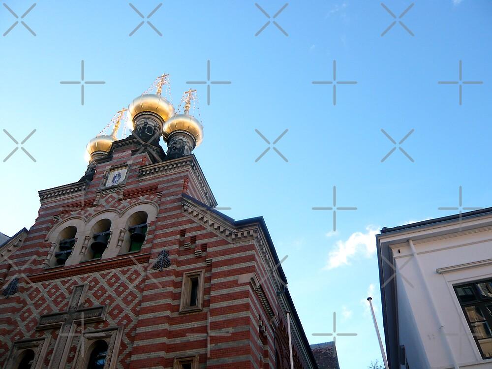 Russian Church in Copenhagen by Hekla Hekla