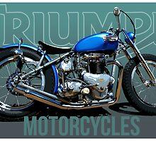George's custom Triumph by Rastas748