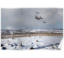 Battle of Britain Snow Scene Poster