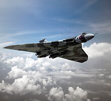 Vulcan Airborne by J Biggadike