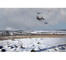 Battle of Britain Snow Scene Photographic Print