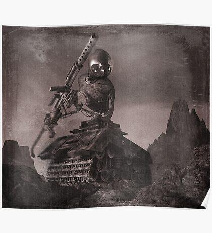 Robot Tank World War 1.5 Poster