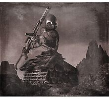 Robot Tank World War 1.5 Photographic Print