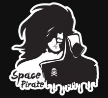 Capitaine Harlock - Space pirate contours by alexMo