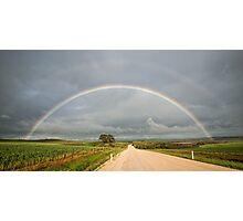 Rainbow Road Photographic Print
