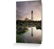 Corsewall Lighthouse Greeting Card