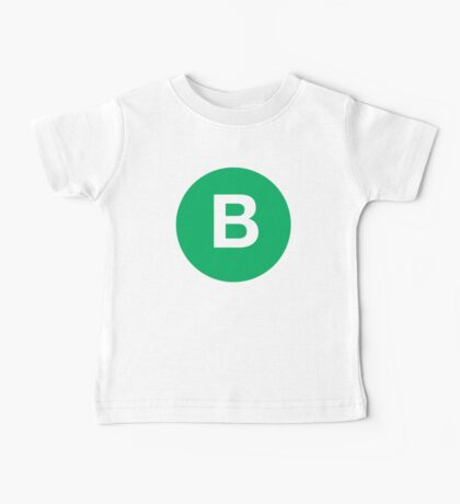 The Letter B Baby Tee