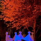Ghosts Halloween Greeting Card by Diana Graves Photography