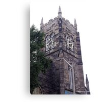 McNabb Church tower Canvas Print