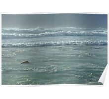 turbulent seas Poster