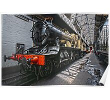 Steam Locomotive HDR II Poster