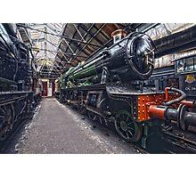 Steam Locomotive HDR III Photographic Print