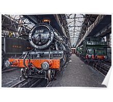 Steam Locomotive HDR VI Poster