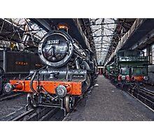 Steam Locomotive HDR VI Photographic Print