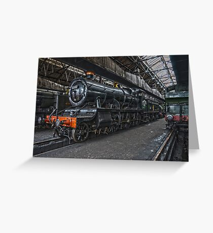 Steam Locomotive HDR VII Greeting Card